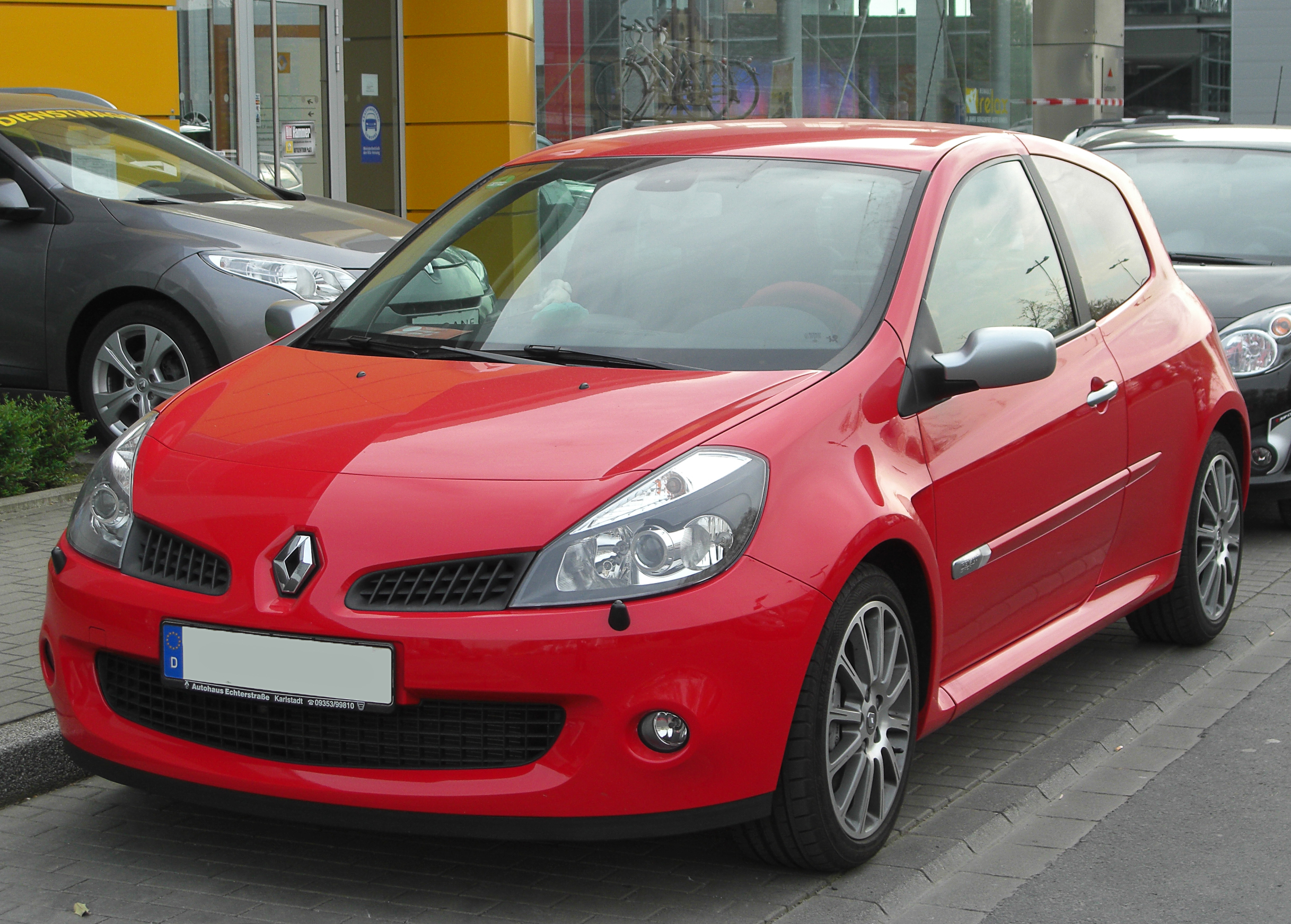 file renault clio iii rs front wikimedia. Black Bedroom Furniture Sets. Home Design Ideas