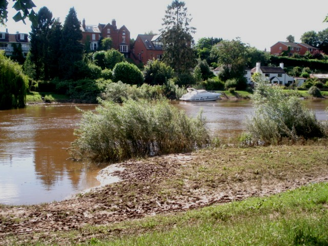River Severn at Pitchcroft - geograph.org.uk - 505679