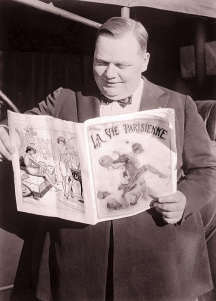 Image result for roscoe arbuckle reading