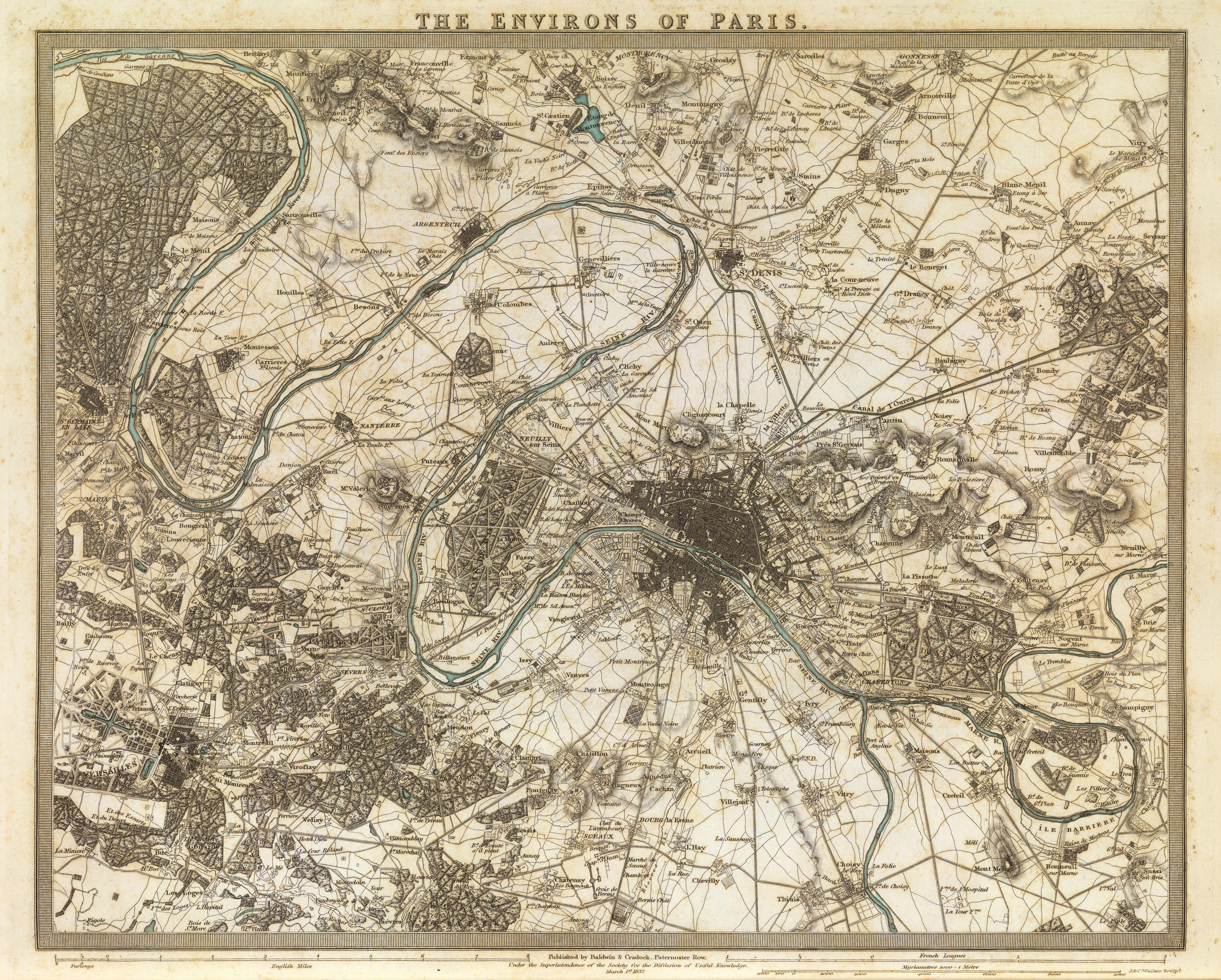 File:SDUK, The environs of Paris, 1832 - David Rumsey.jpg