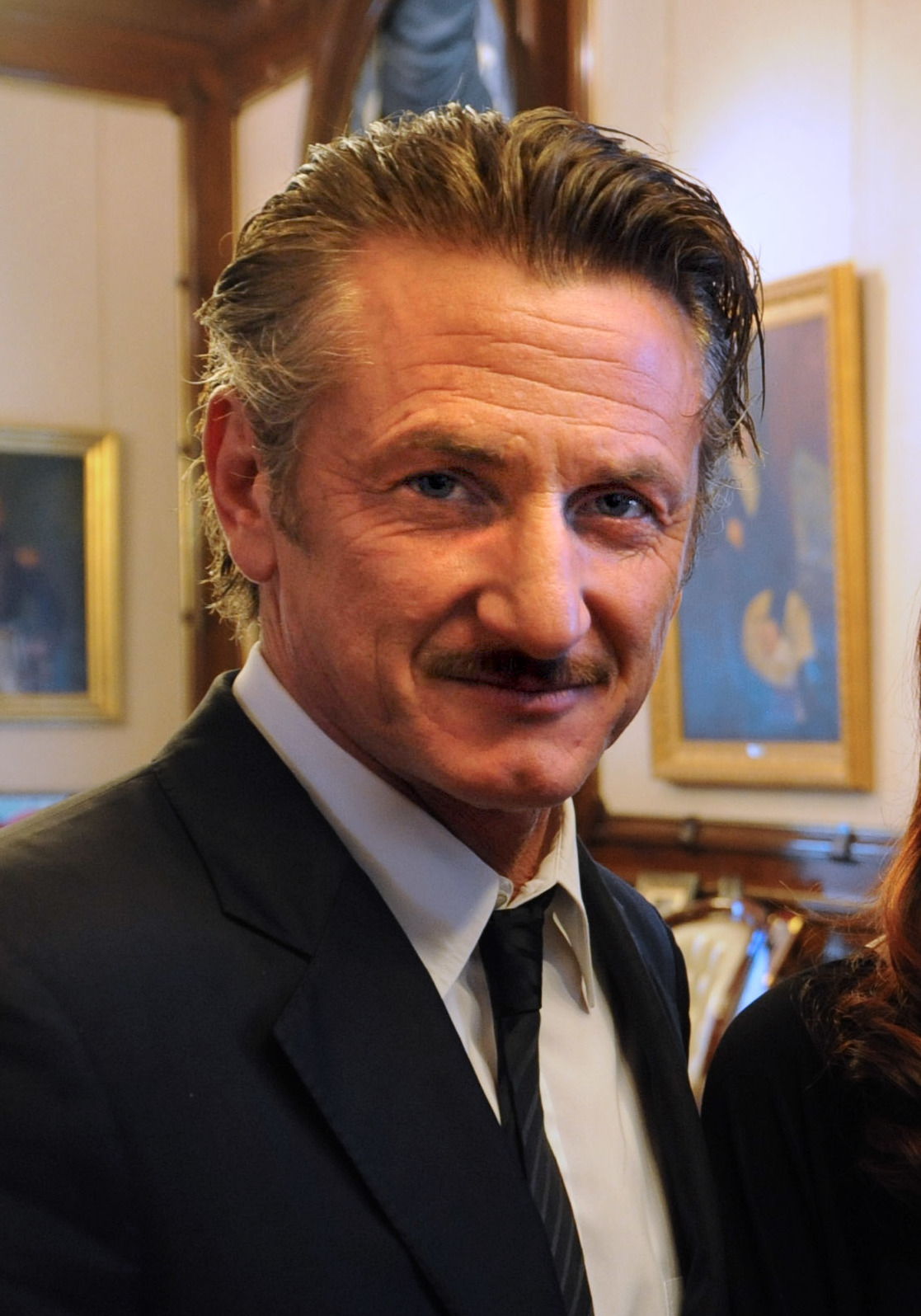 sean penn actor portrait