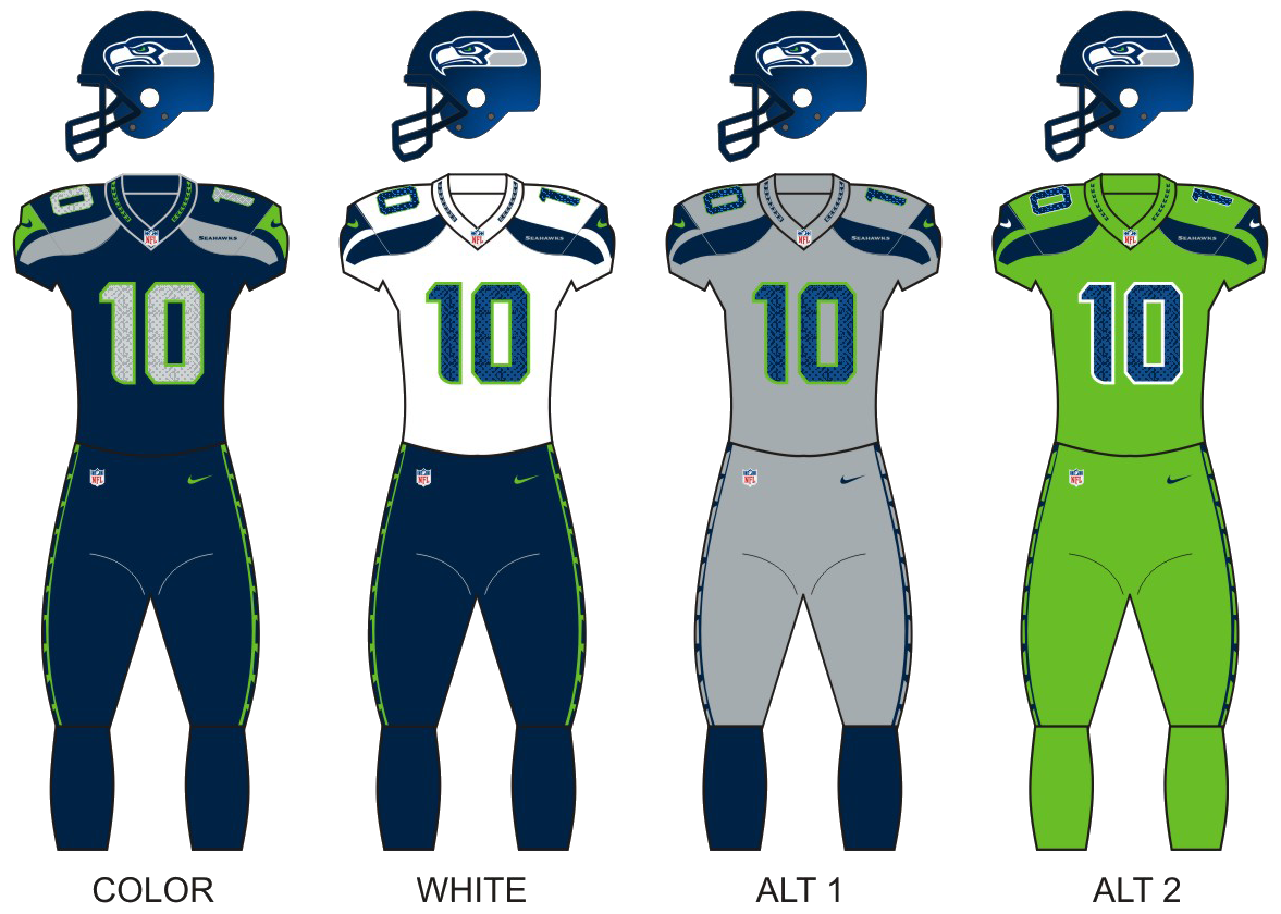 IMAGE(https://upload.wikimedia.org/wikipedia/commons/4/46/Seattle_seahawks_uniforms.png)