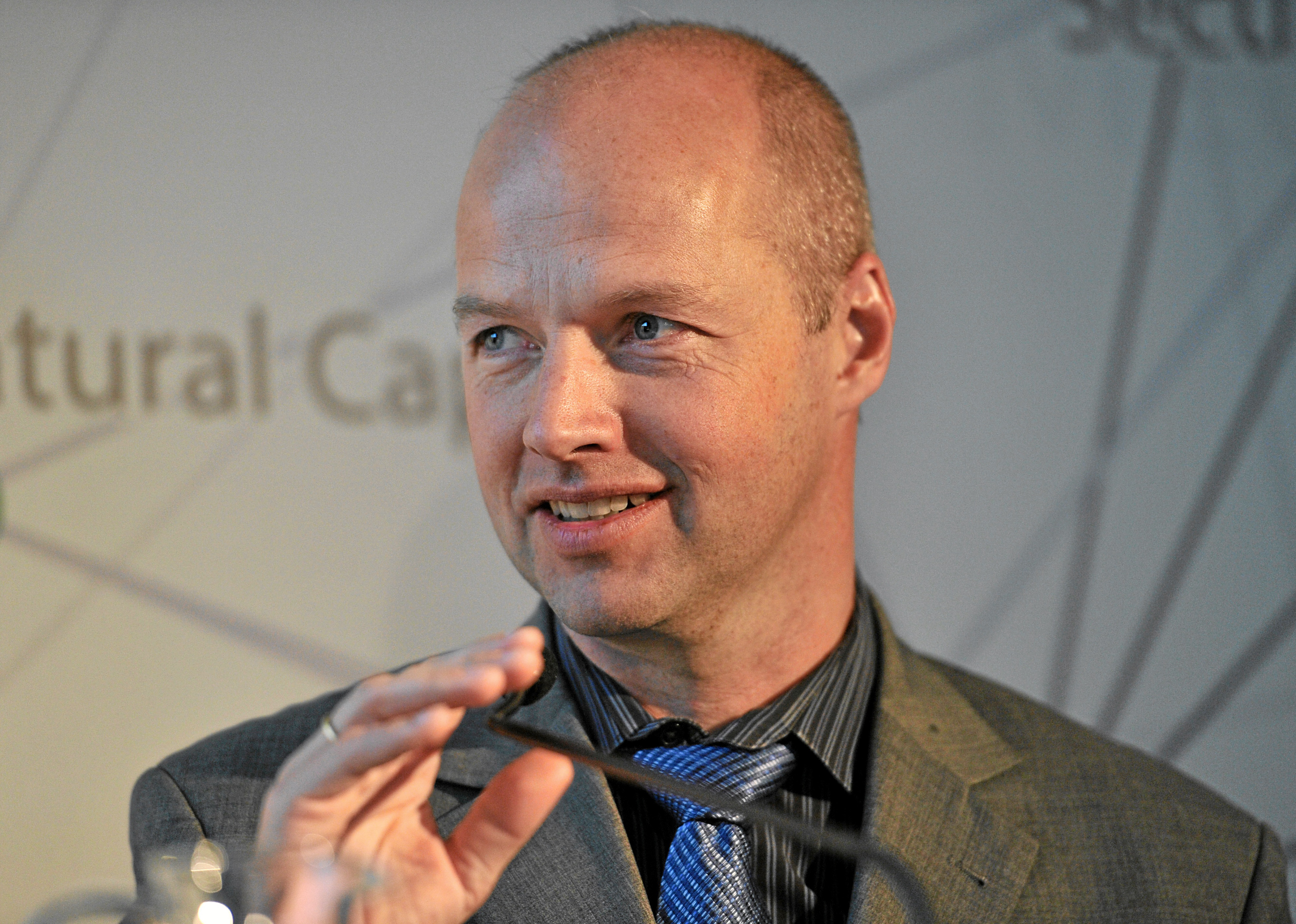 Sebastian Thrun at the [[World Economic Forum]] Annual Meeting in 2013