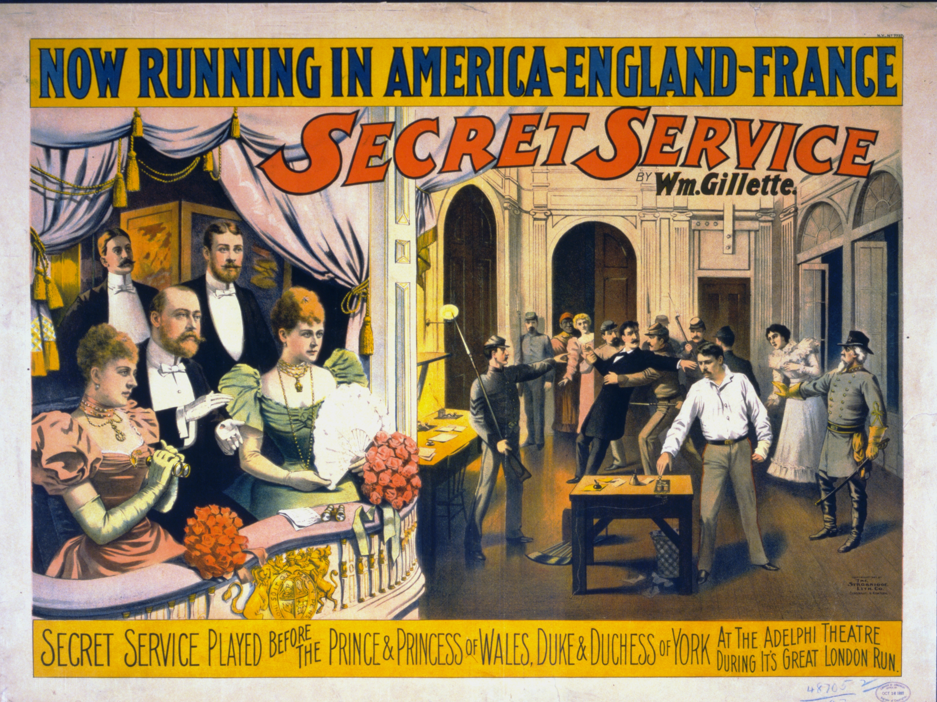 Secret Service Poster - Quelle: WikiCommons