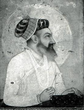 portrait of Mughal emperor Shah Jahan