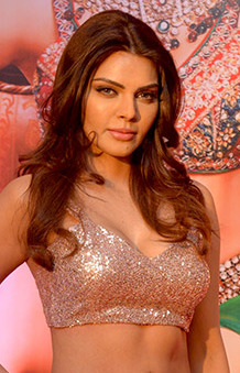 Sherlyn Chopra snapped at Tunu Tunu album launch (03) (cropped).jpg