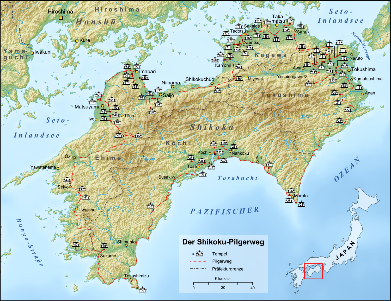 Island Hotspring Map