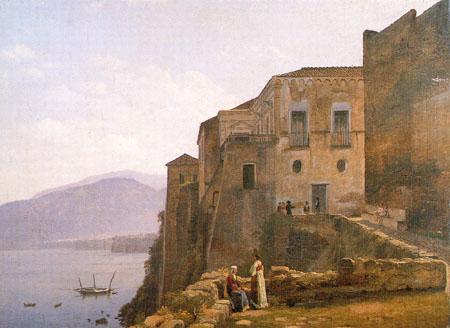 С. Щедрин. Дом Торквато Тассо в Сорренто. 1820