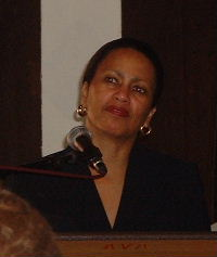Portrait photograph of Beverly Malone in 2003