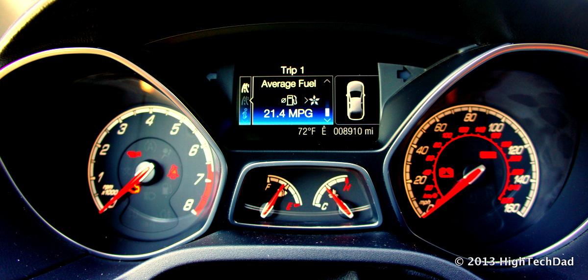 Ford Focus Dashboard Car Symbol