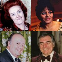 четыре выстрела оперных звезд без грима и в роли самих себя