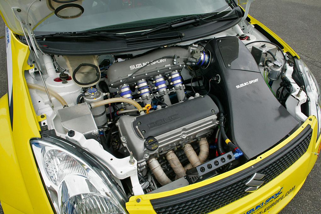 Suzuki Swift Engine Management Light