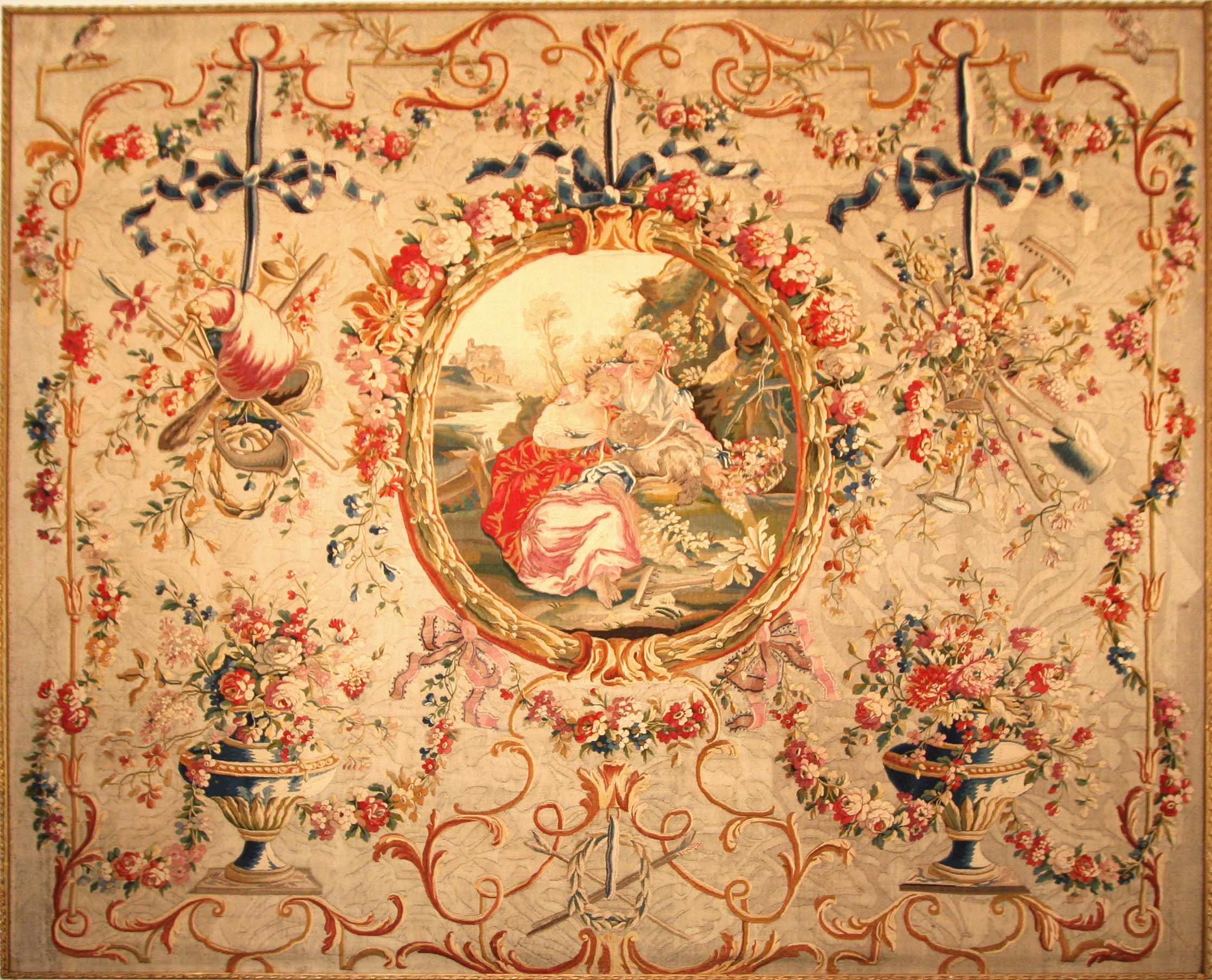 File tapisserie d 39 aubusson huet jpg wikimedia commons - Manufacture d aubusson ...