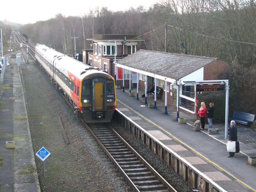 Oakley Gauge 8 >> West of England line - Wikipedia