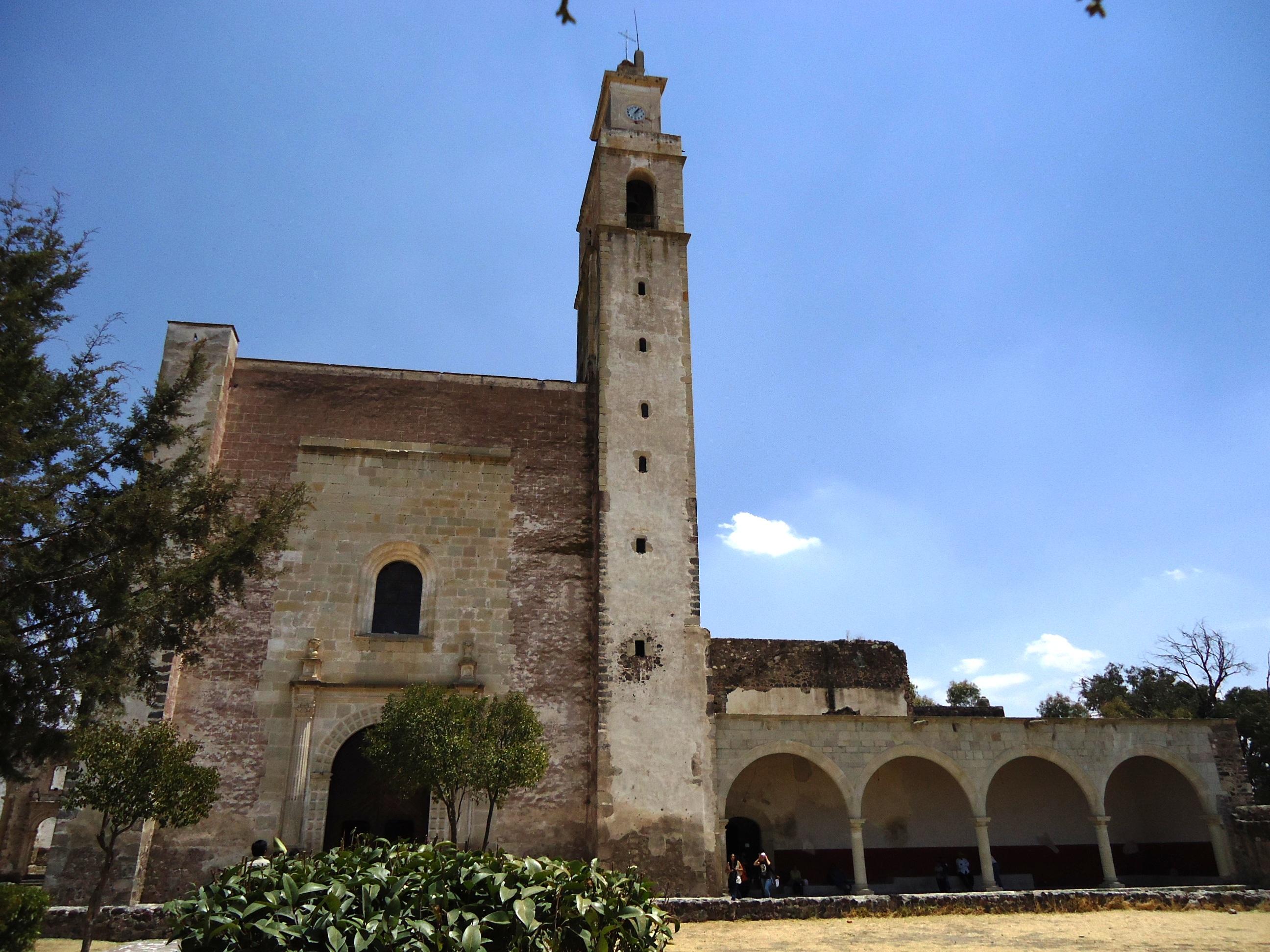 Templo y exconvento de Todos los Santos (Zempoala) - Wikipedia, la  enciclopedia libre