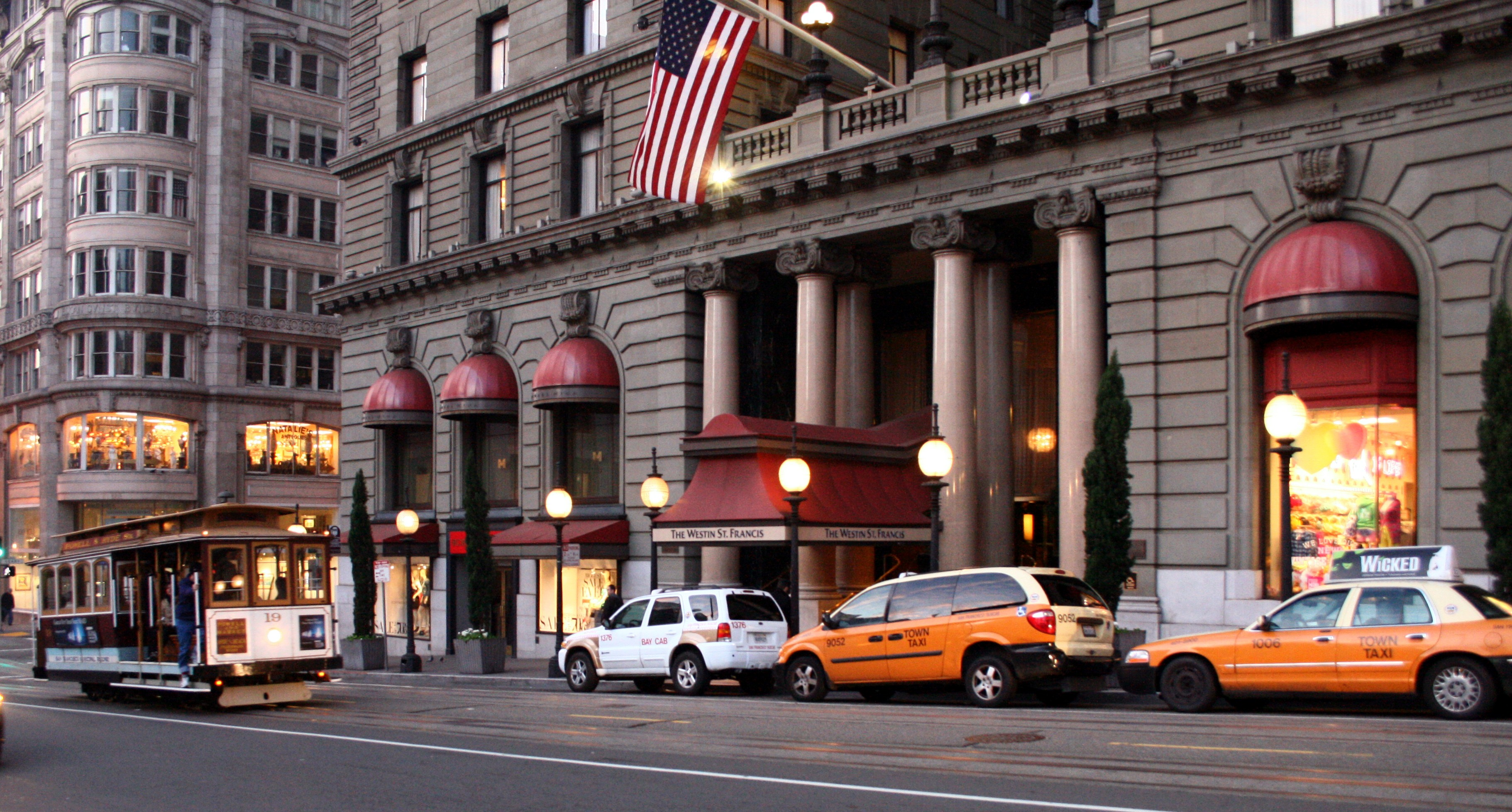 File the westin st francis hotel san for Western union san francisco ca