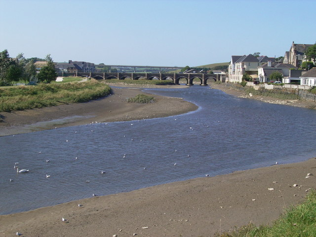 The Wool Bridge Wadebridge - geograph.org.uk - 382677