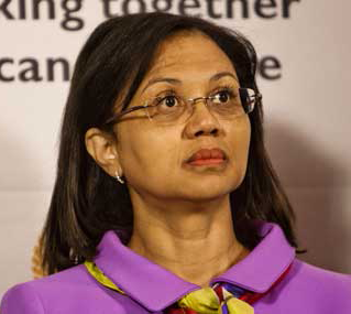 Tina Joemat-Pettersson South African politician