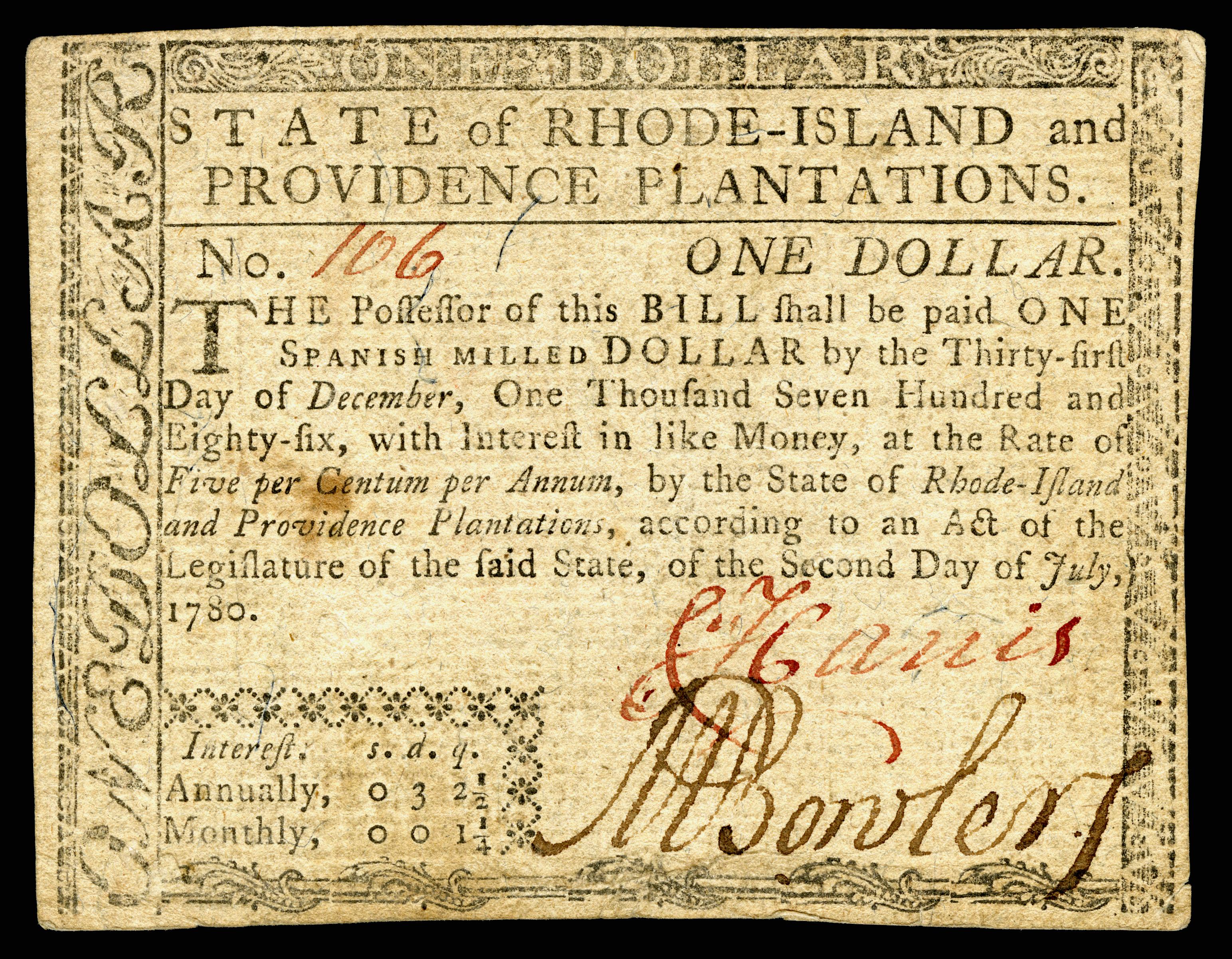 Information About Rhode Island Flag