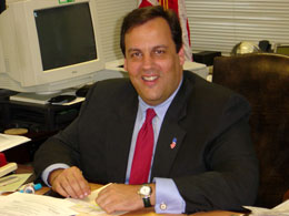 Chris Christie, the current governor of the st...