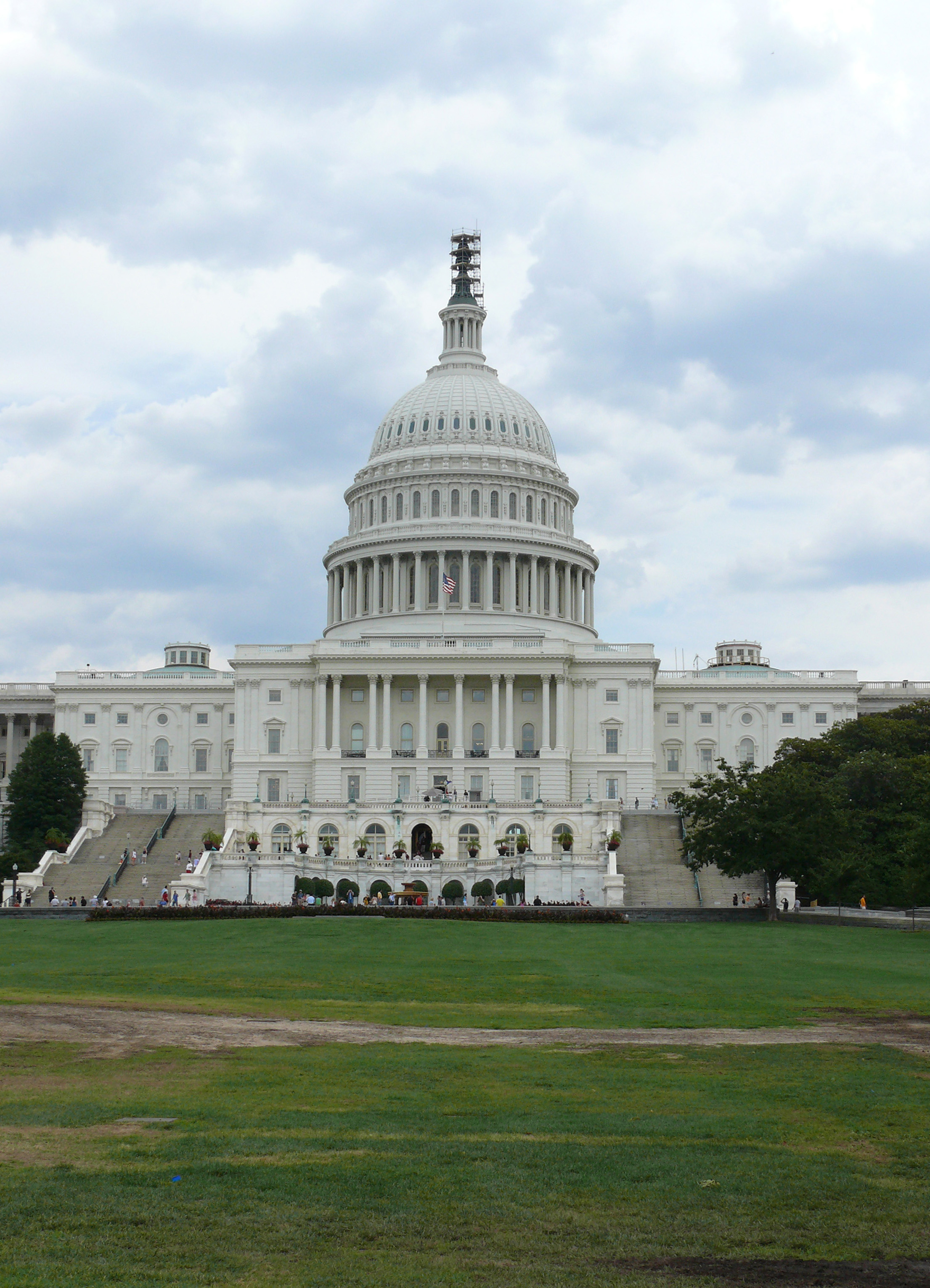 The US Capitol Building in Washington