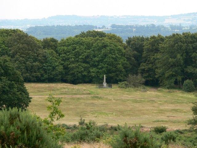 View of the War Memorial at Kinver Edge - geograph.org.uk - 495800