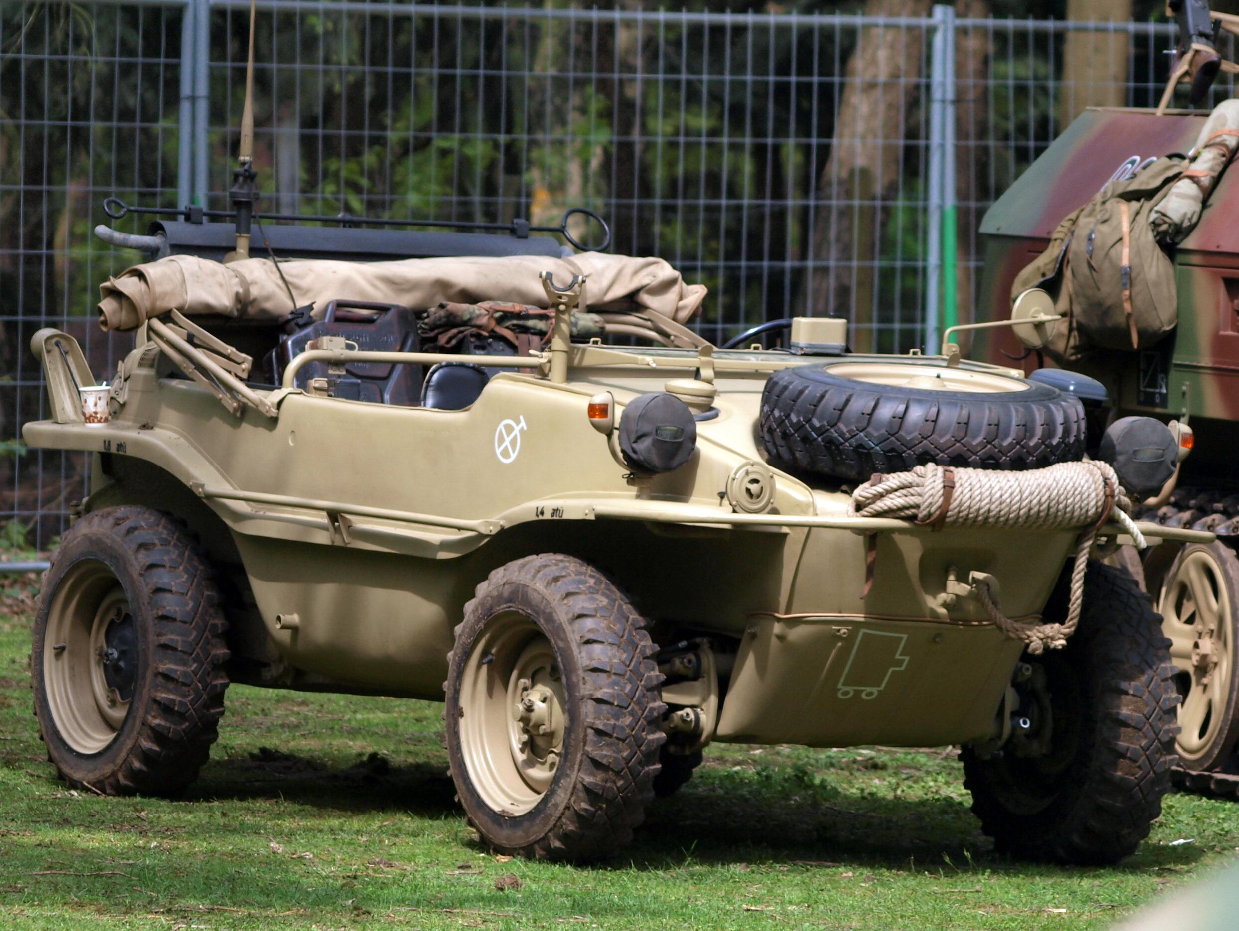 Amphibious Vehicle For Sale >> 1944 - VW-Schwimmwagen type 166 | Volkswagen, Army ...