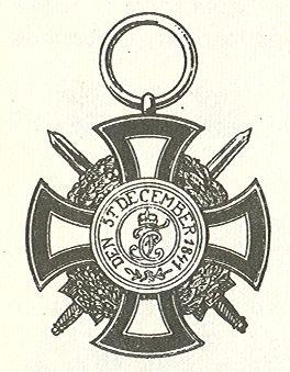 Datei:Vorstelijk Hohenzollernse Huisorde Erekruis I met Zwaarden 1866.jpg
