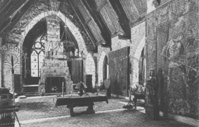 File Wyntoon Maybeck 1906 Great Hall Interior Jpg