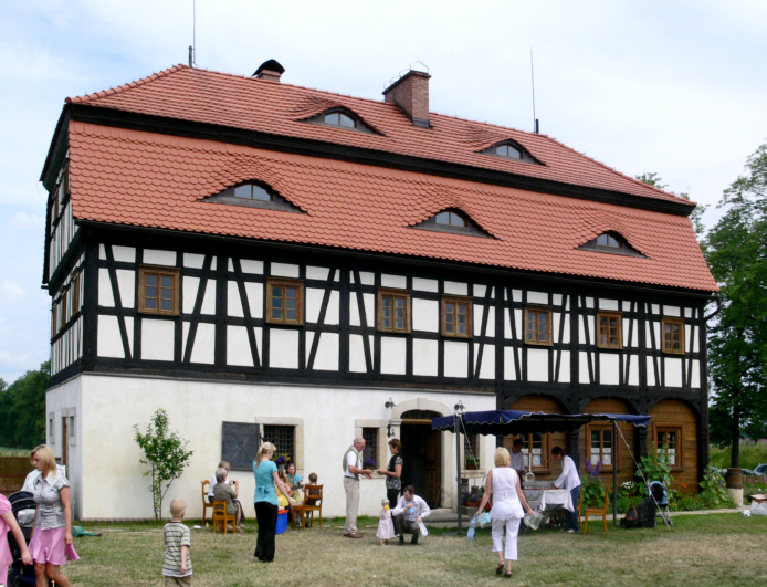 """""""Dom Kołodzieja"""" (Stellmacherhaus) in Zgorzelec, Polen"""