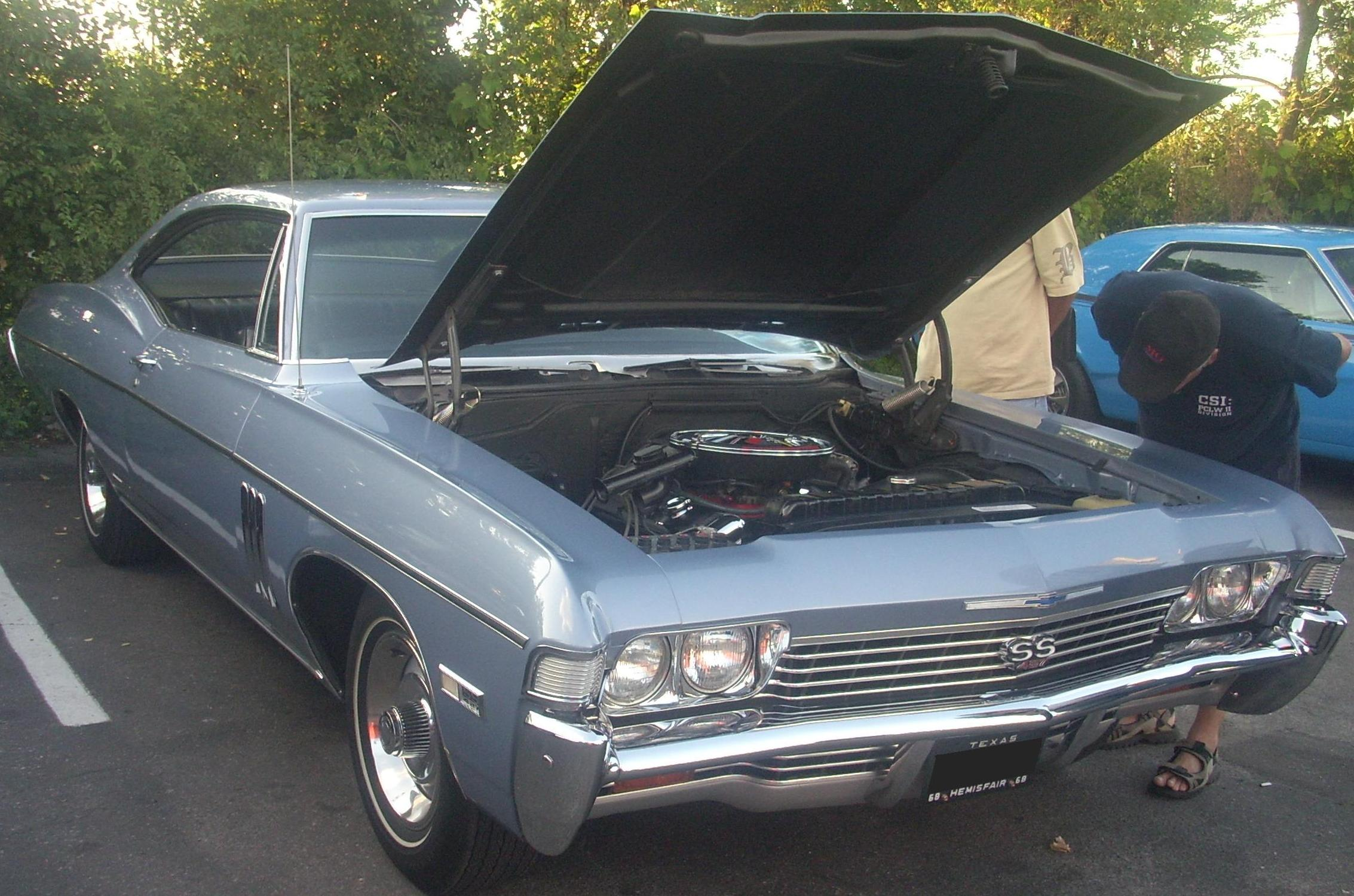 File:'68 Chevrolet Impala SS 457 Coupe (Orange Julep).jpg ...