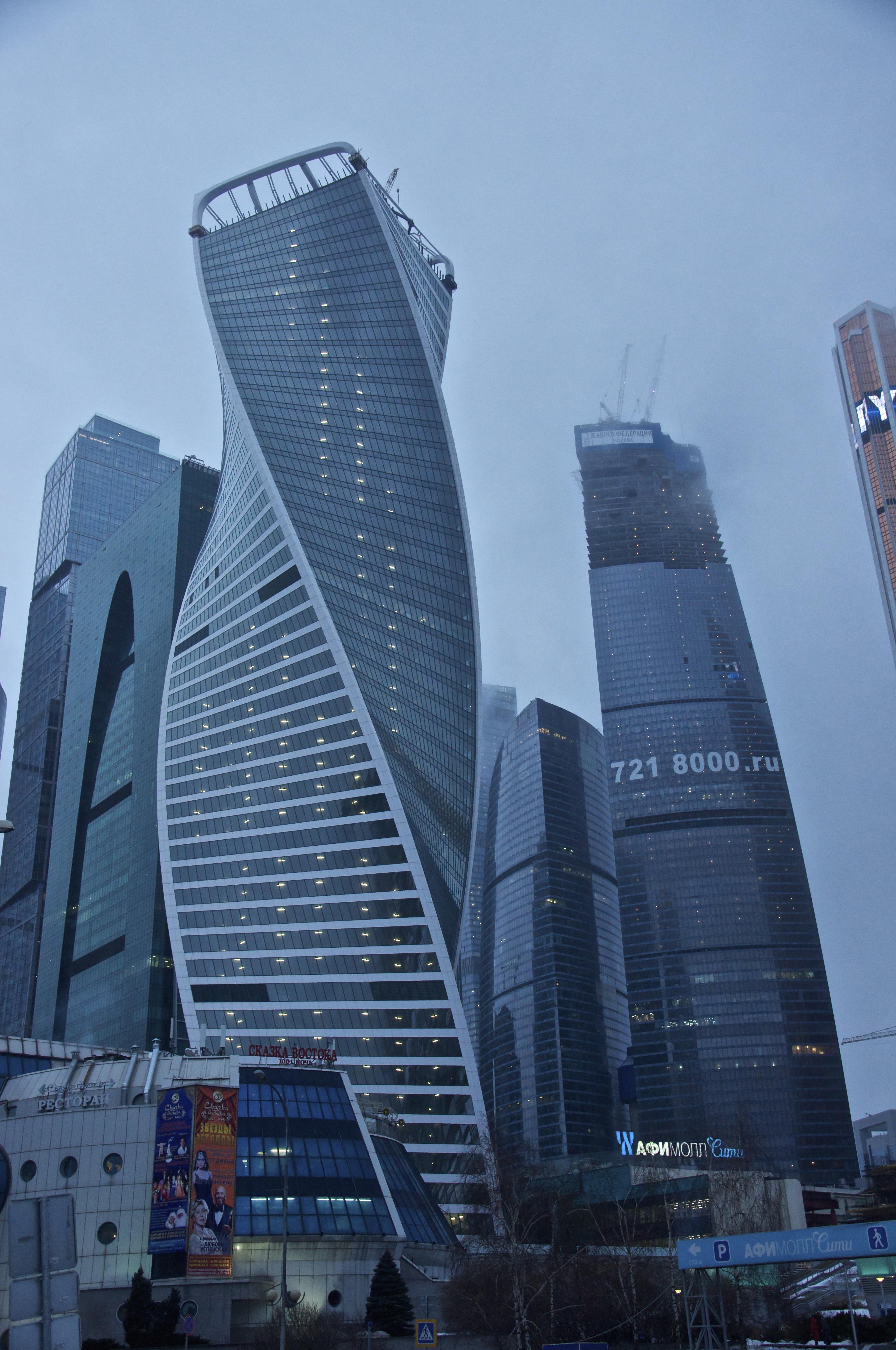 Evolution Tower, Moscow International Business Center. [2848 × 4288]