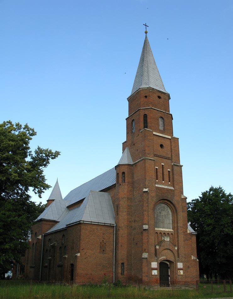 Костел Успіння Пресвятої Діви Марії (Отинія) — Вікіпедія