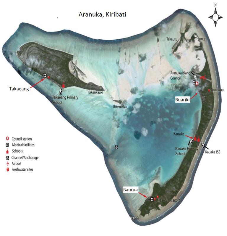 File Map Of Aranuka Kiribatijpg Wikimedia Commons - Kiribati map quiz