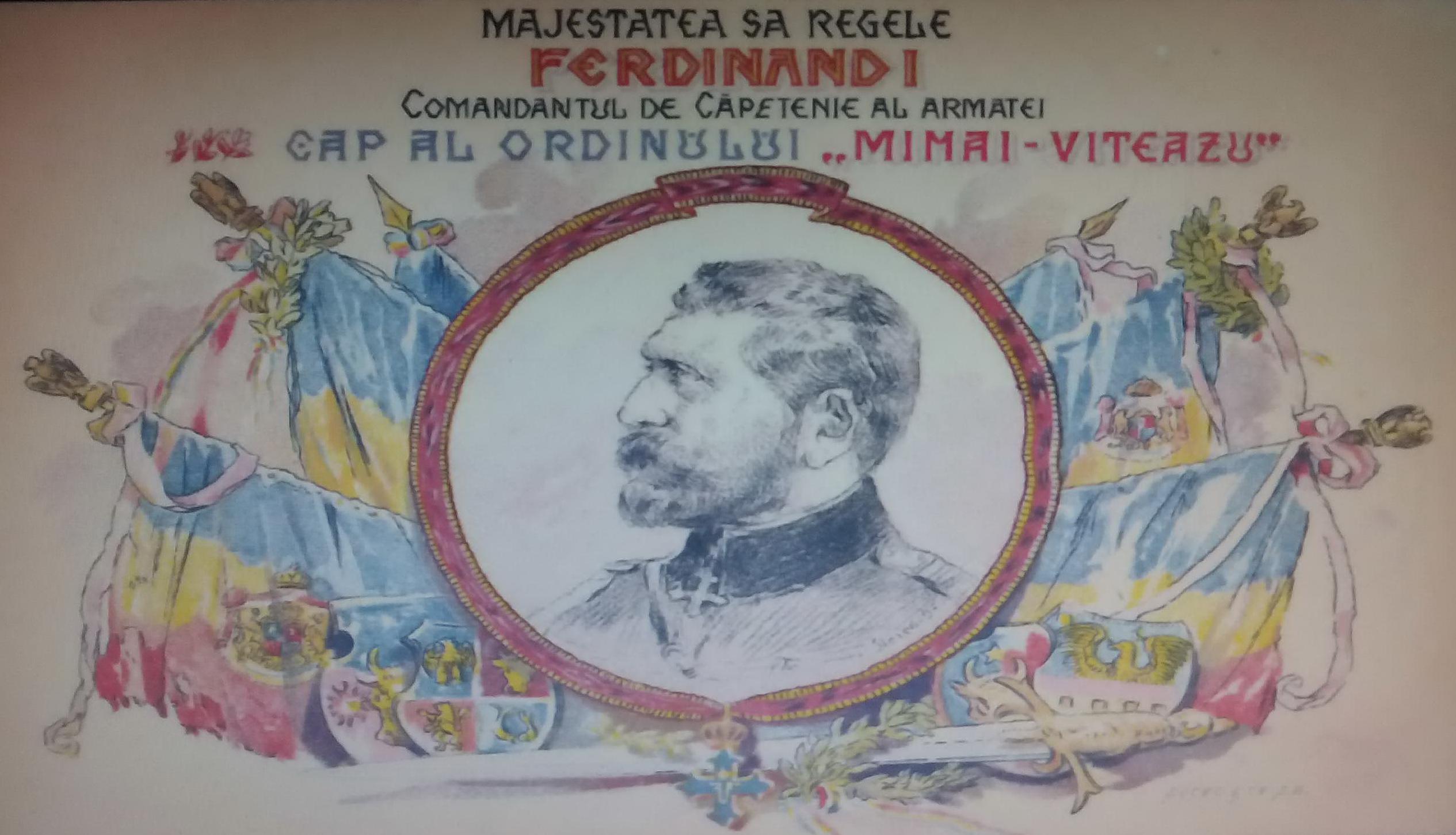Image result for ordinul mihai viteazul ferdinand