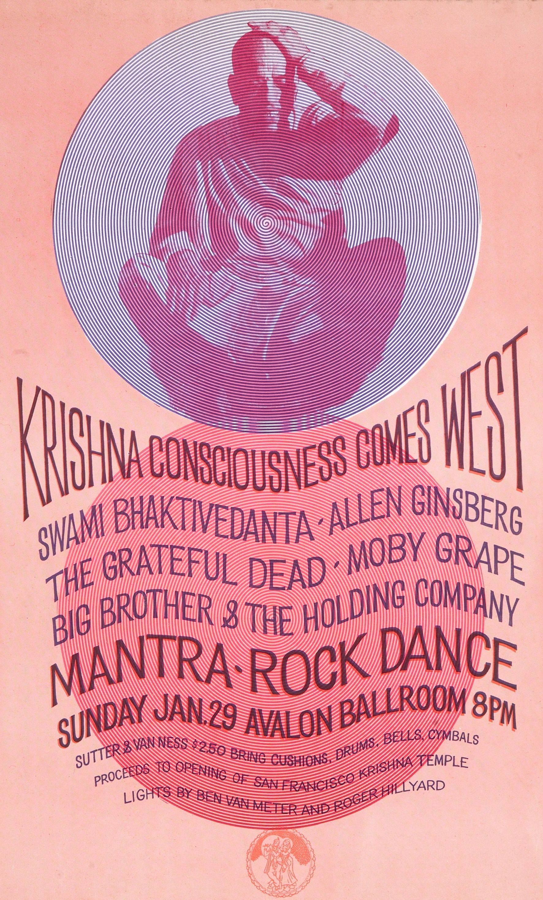 1967 Mantra Rock Dance Avalon posterjpg PortalSan Francisco
