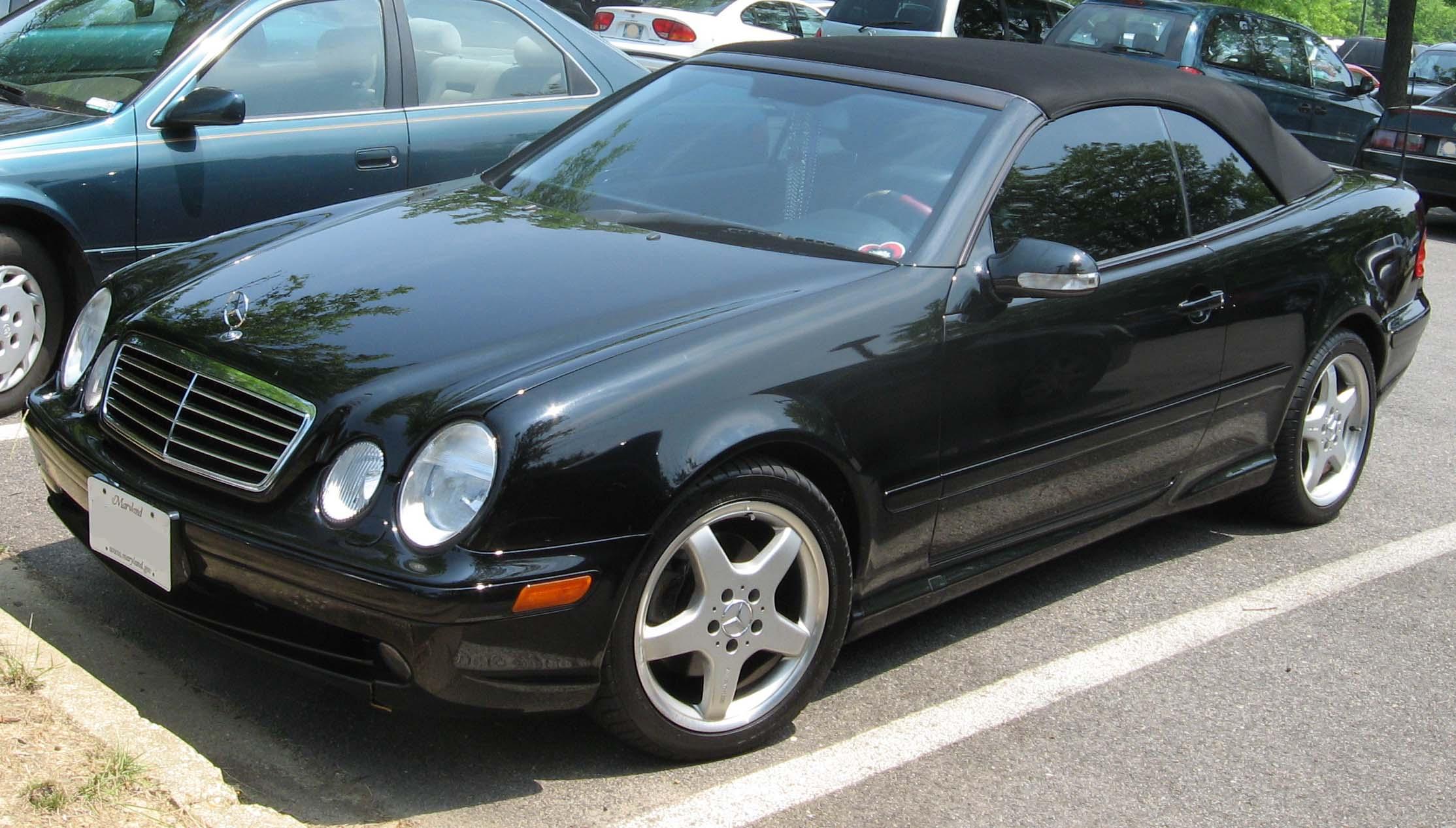 2002 Mercedes-Benz 430CLK