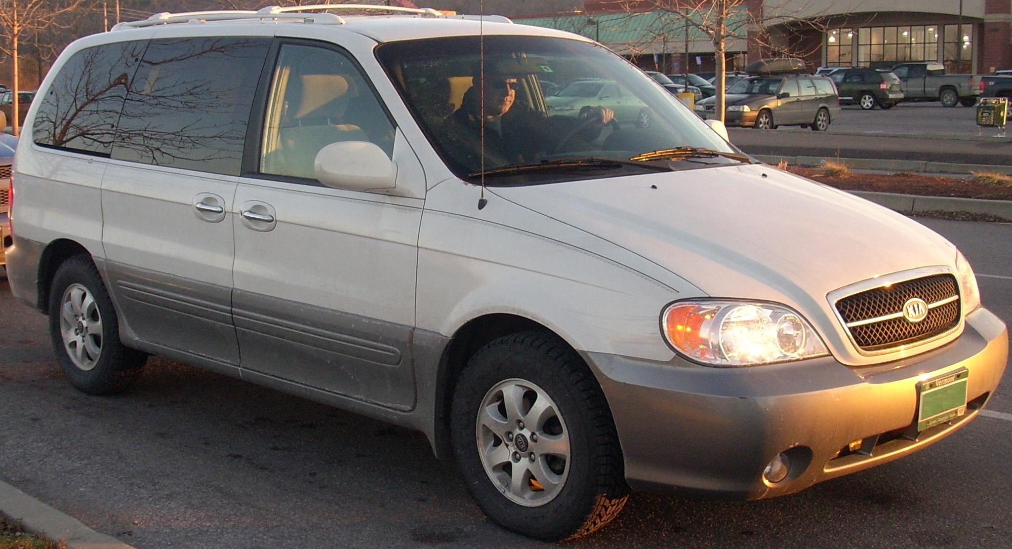 File 2004 05 Kia Sedona Jpg Wikimedia Commons