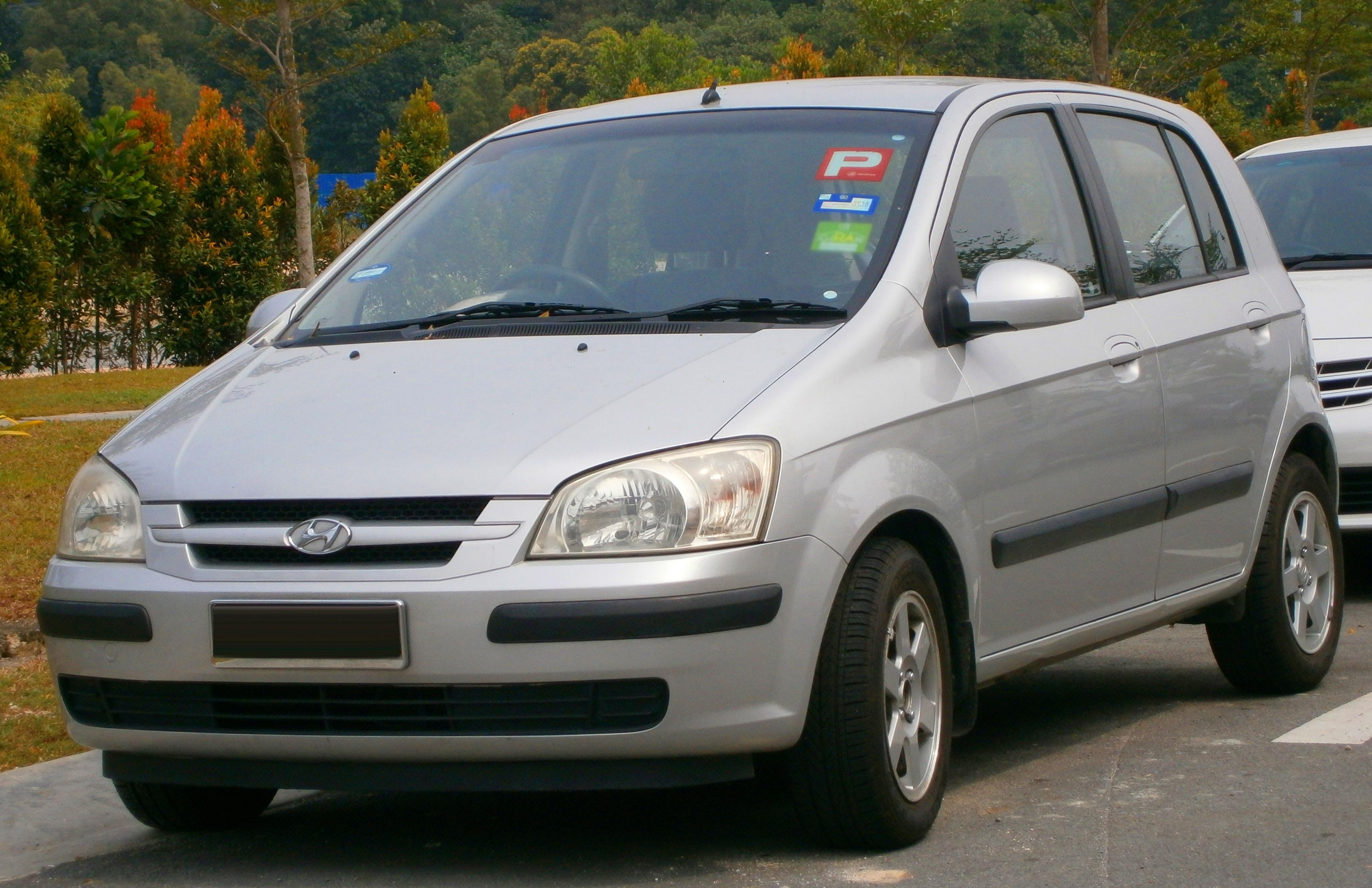 File 2004 Hyundai Getz Gl 5 Door Hatchback In Puchong