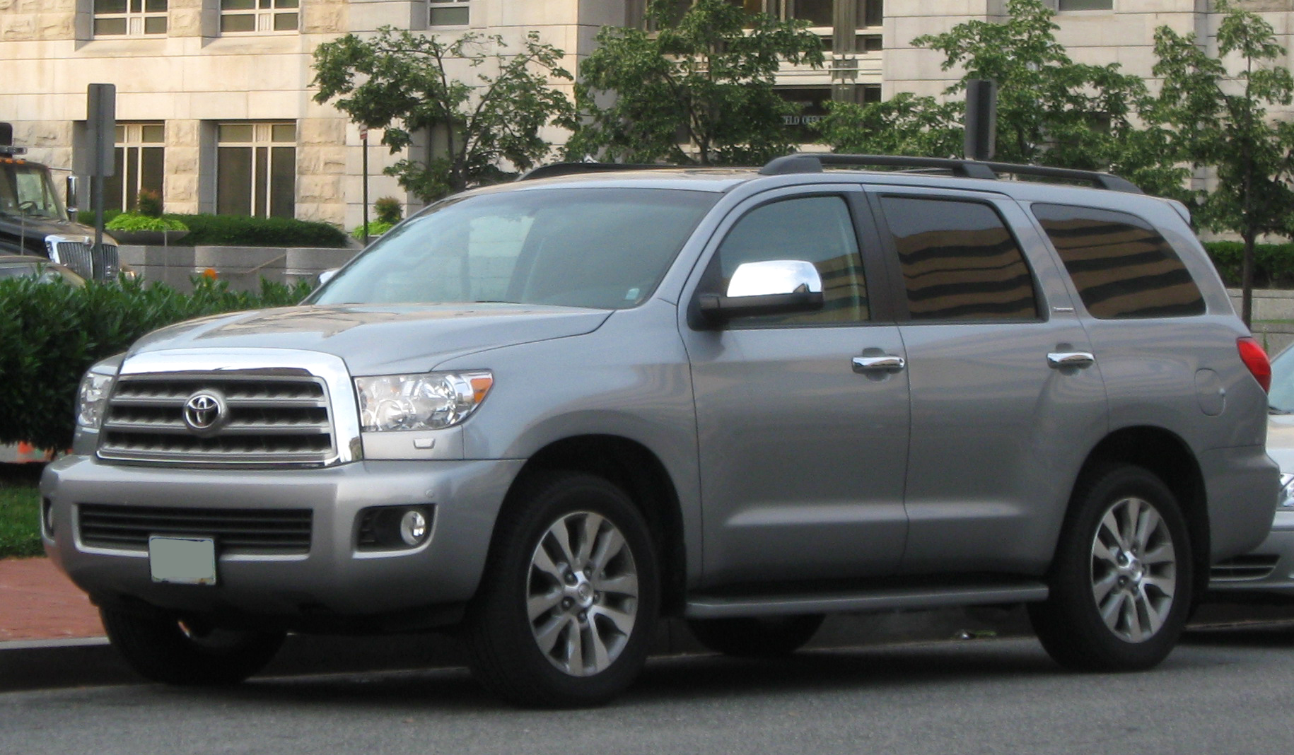 File 2008 2009 Toyota Sequoia Limited Jpg Wikipedia