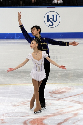 Yu Xiaoyu and Jin Yang had scored thrice above 173 points. Thrice they had scored above 62 points in the short program and twice above 112 points in free skating.
