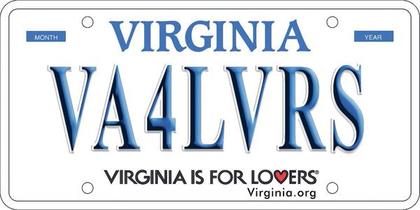 Vehicle registration plates of Virginia - Wikipedia