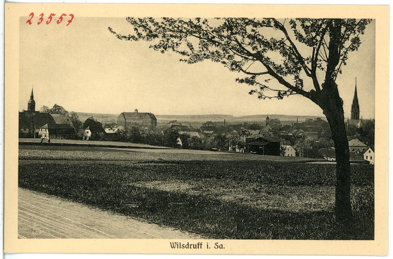 File:23557-Wilsdruff-1926-Blick auf Wilsdruff-Brück & Sohn Kunstverlag
