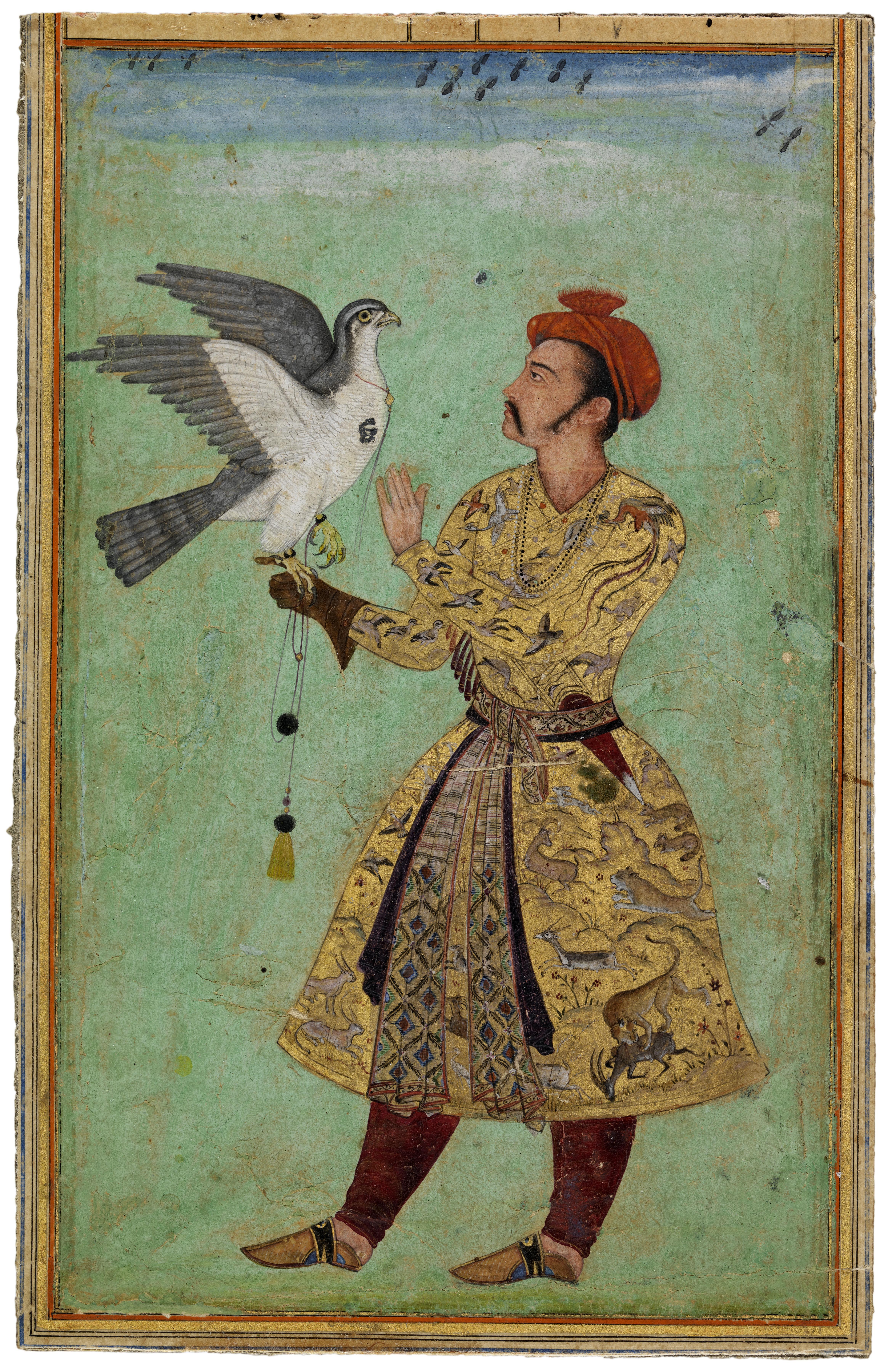 A Prince with a Falcon.jpg