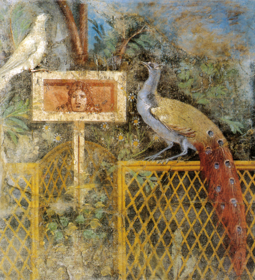 Pittura Romana Di Giardino