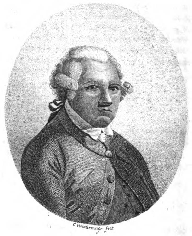 Alexander Dalrymple, engraving by Conrad Westermayr.