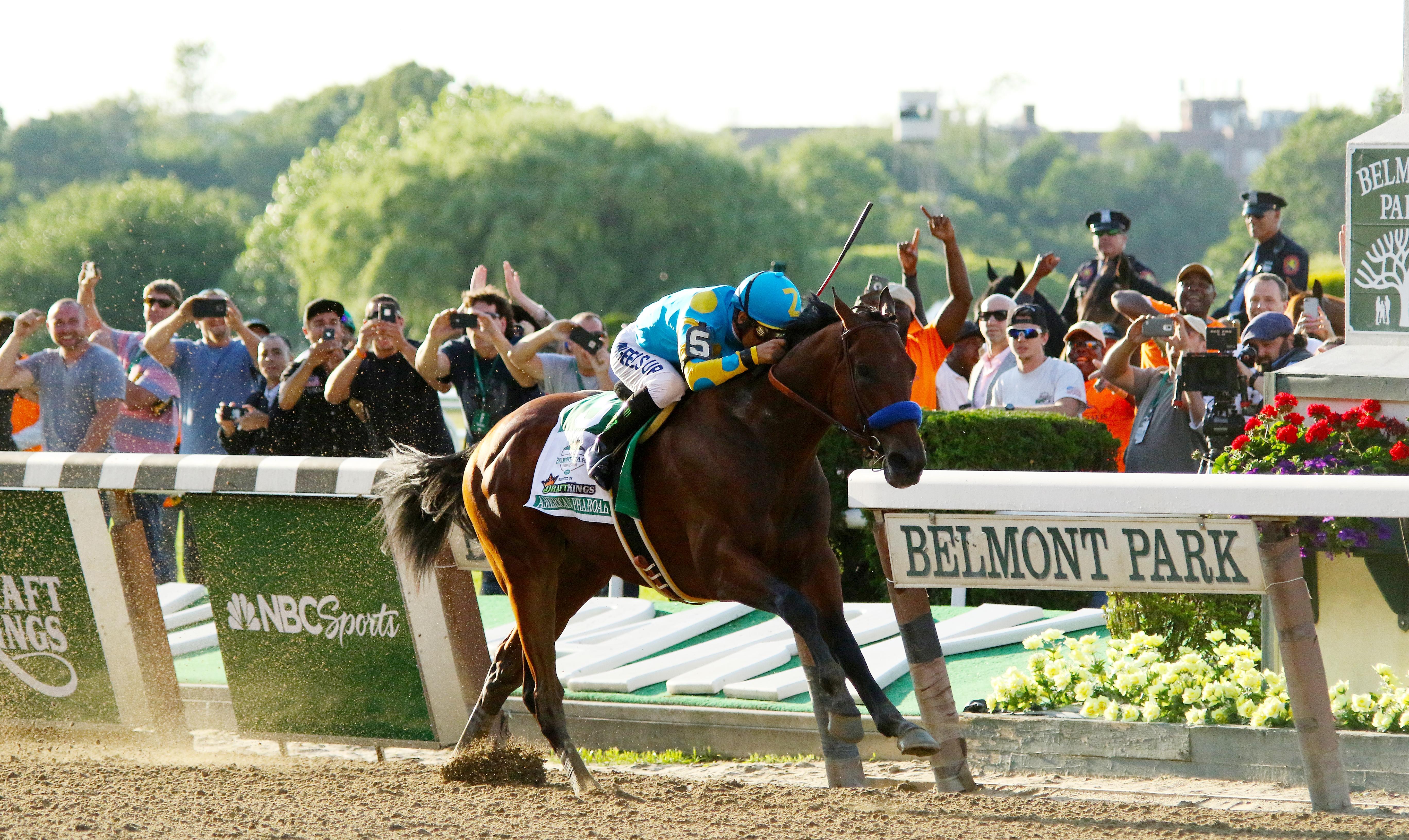 File American Pharoah Wins 2017 Belmont Stakes Jpg