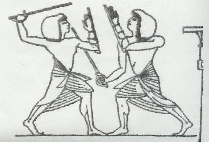 Tahtib tomb painting