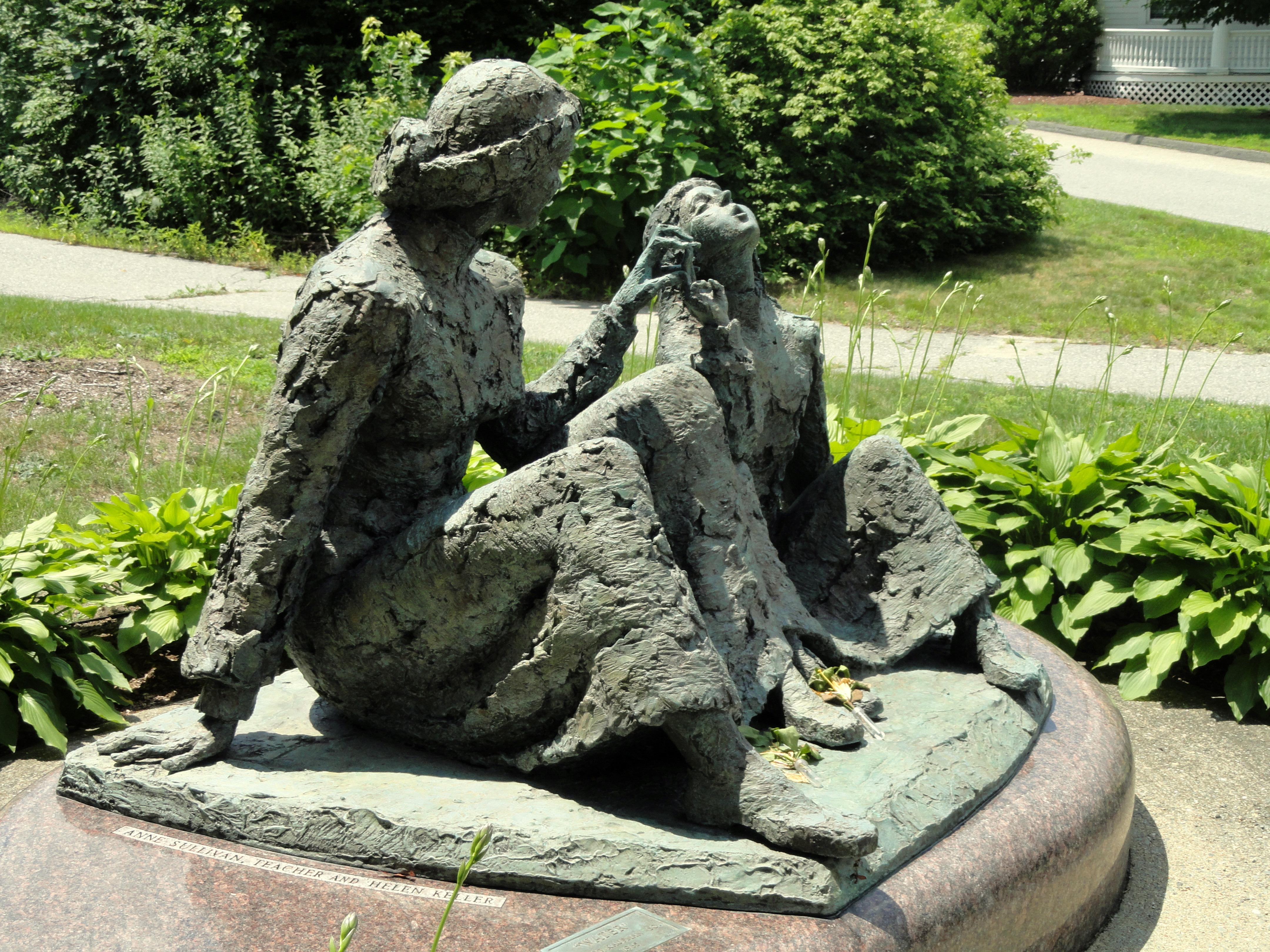 Anne Sullivan—Helen Keller Memorial, Tewksbury, Massachusetts