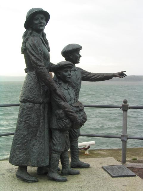 Statue of Annie Moore, Ireland